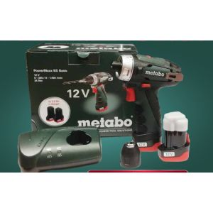 AKU ODVIJAČ 12V METABO POWERMAXX BS BASIC 600984000