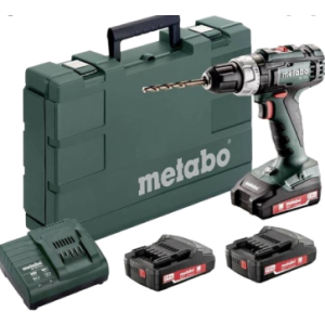 METABO BS18 Li 2X1,3AH 6.02207500